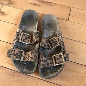 Shoes - Leopard Birkenstock's